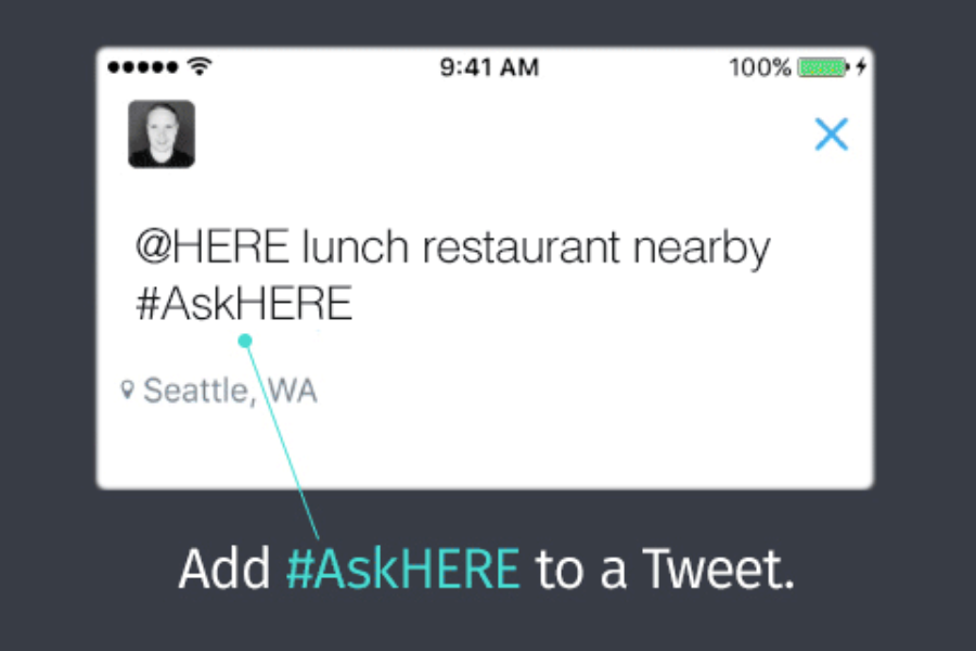Guest post: #AskHERE on Twitter and you shall receive
