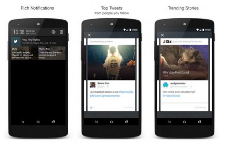 Highlights destaca o melhor conteúdo do Twitter para você