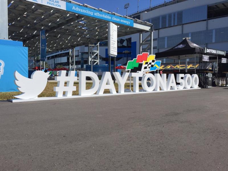 How @NASCAR's #DAYTONA500 unfolded live