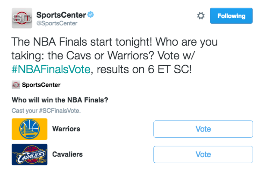 How the @cavs #NBAFinals run unfolded live on Twitter