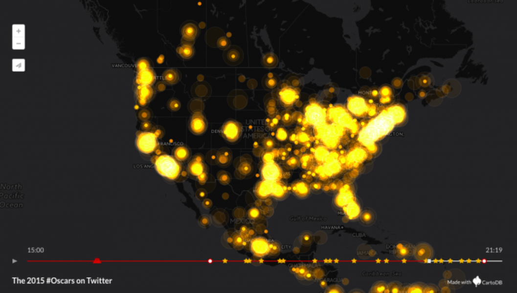 How the #Oscars unfolded on Twitter