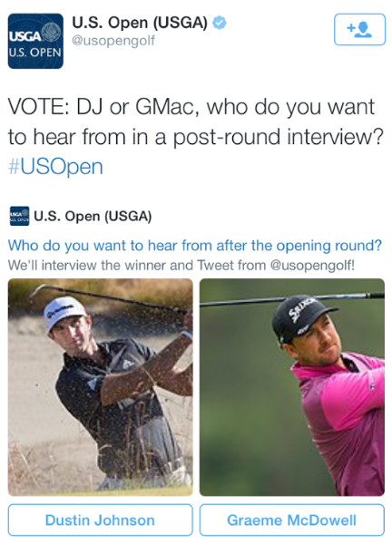 How the #USOpen fared on Twitter