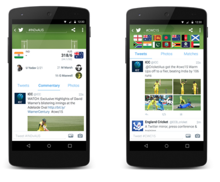 How to follow the #CWC15 on Twitter
