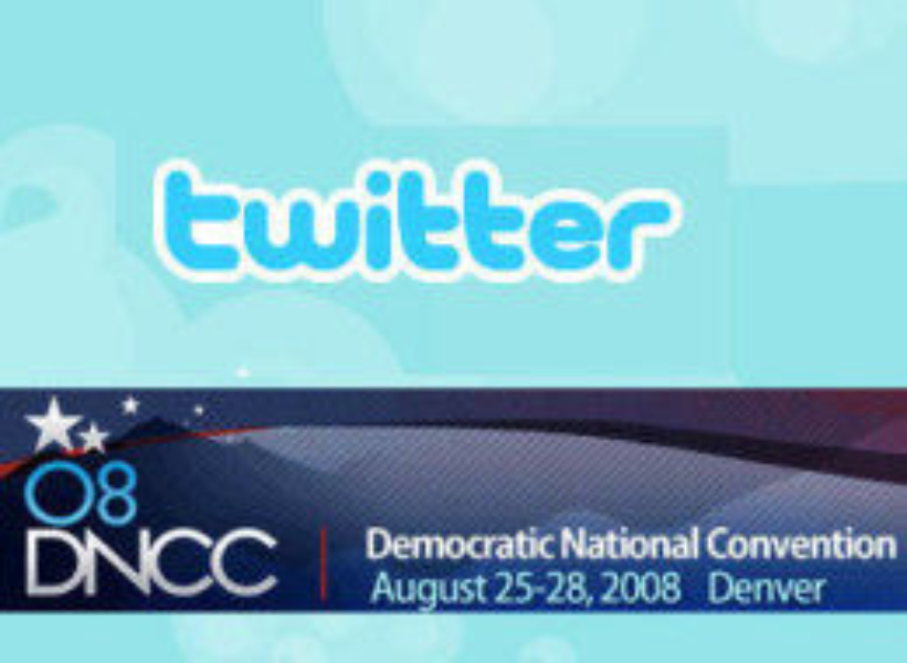 HuffPo Twittering from the DNC