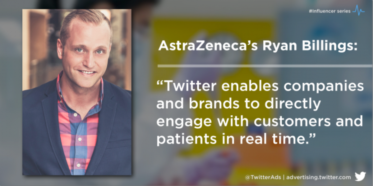 Influencer Q&A: @AstraZeneca's Ryan Billings on why healthcare companies need a social-first mindset