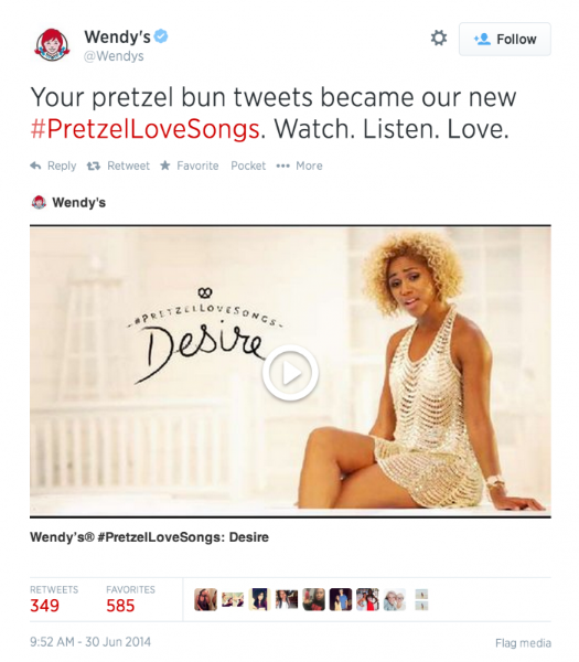Influencer Q&A with Wendy's: The story behind #PretzelLoveSongs