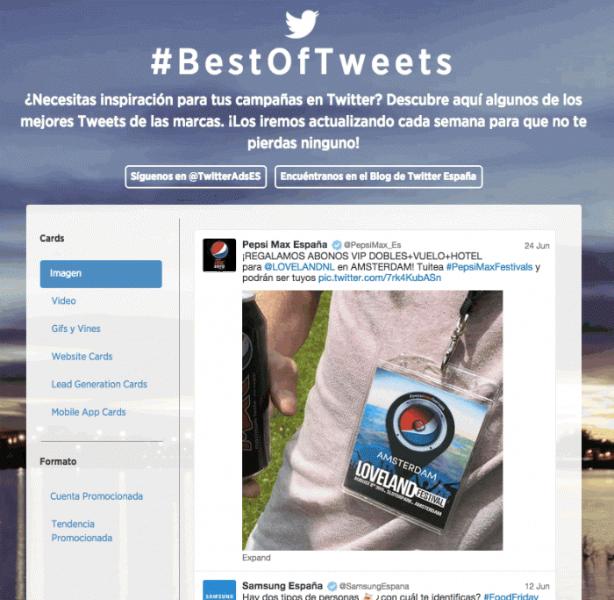 Inspírate con las mejores campañas en Twitter