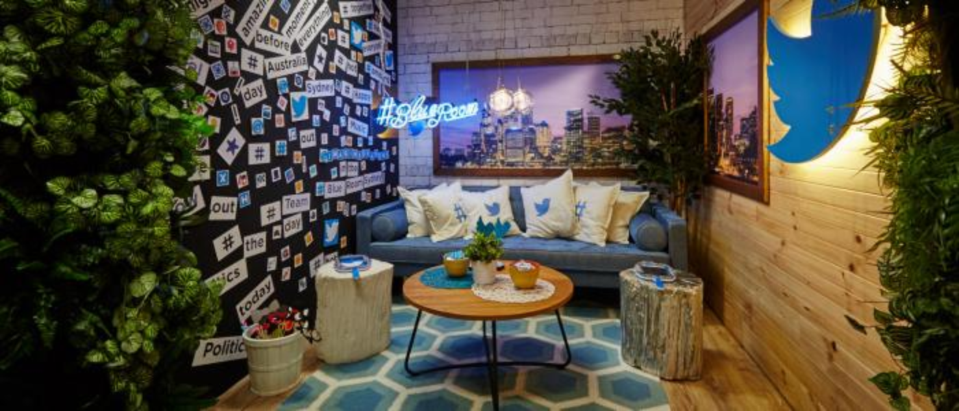 Introducing the @TwitterAU #BlueRoom