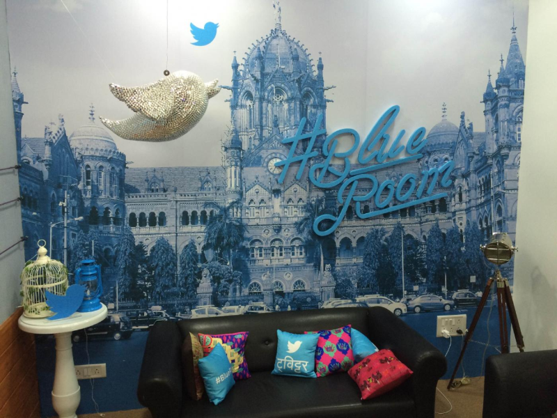 Introducing @TwitterIndia's #BlueRoom