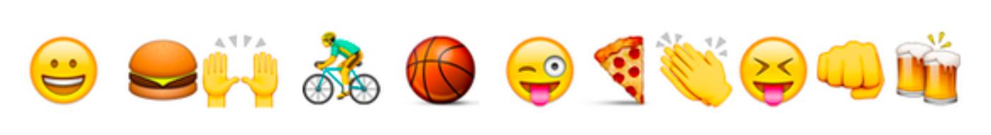 Introduzimos segmentação de audiência por emojis