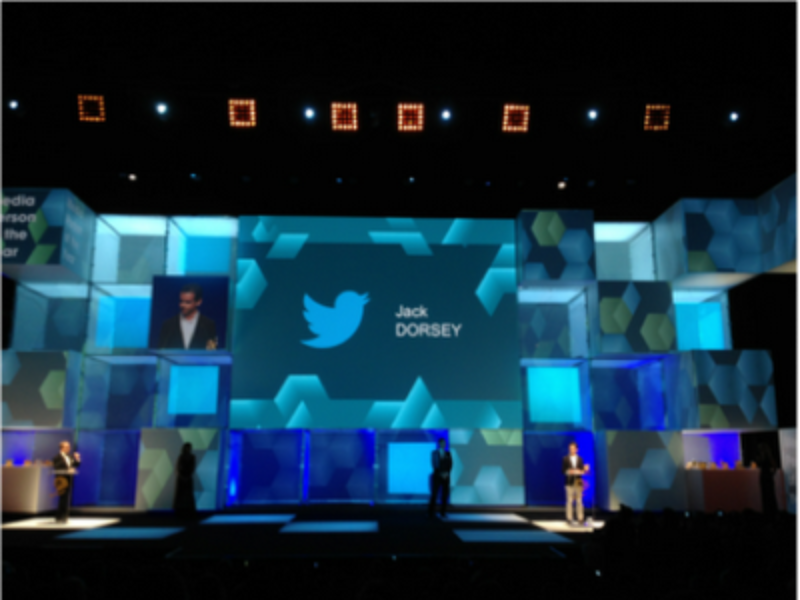 Jack Dorsey Twitter Cannes Lions Media Person of the Year
