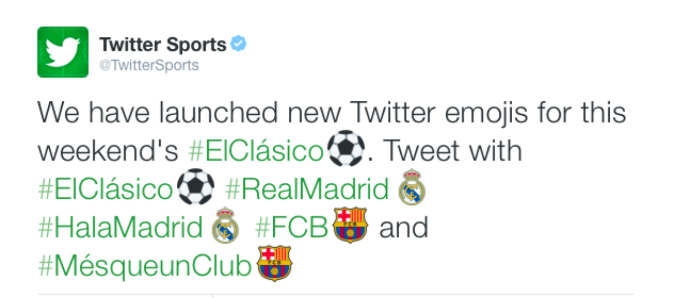 Join the global #ElClásico conversation on Twitter
