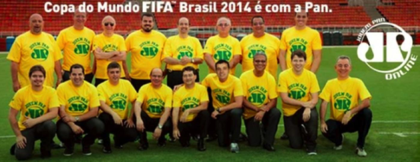 Jovem Pan na Rede: o mundo da Copa em um só lugar