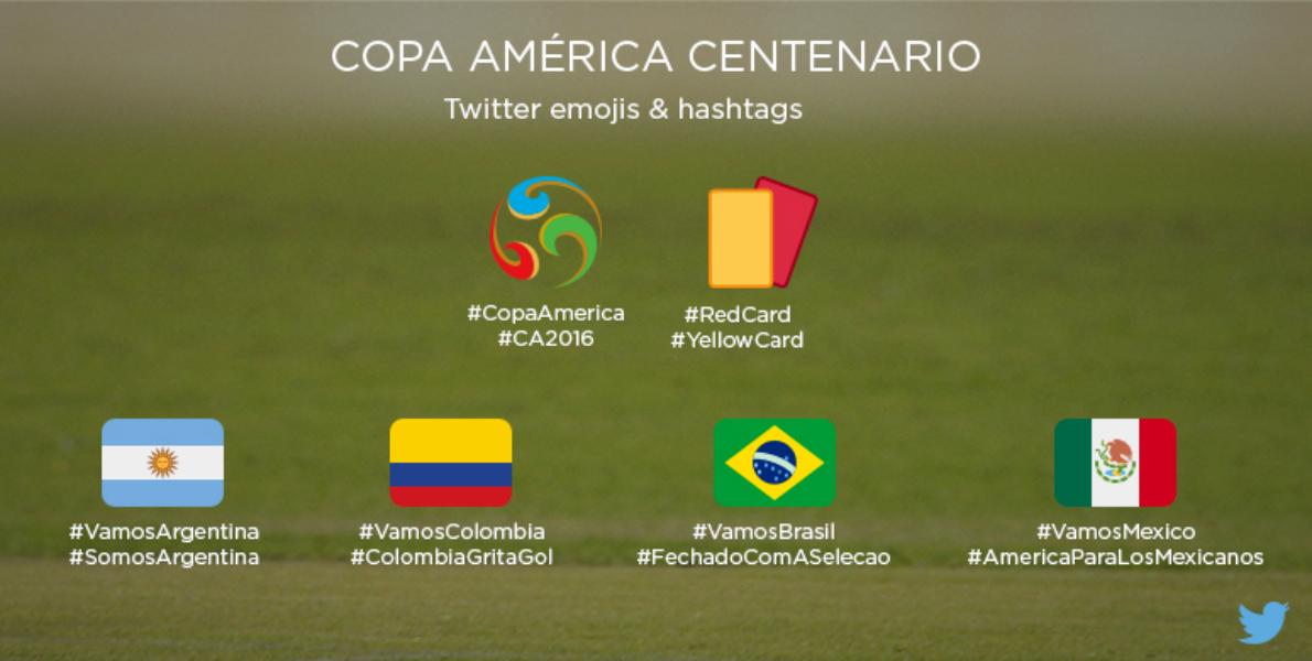 La experiencia de Copa América se vivirá en la cancha de Twitter