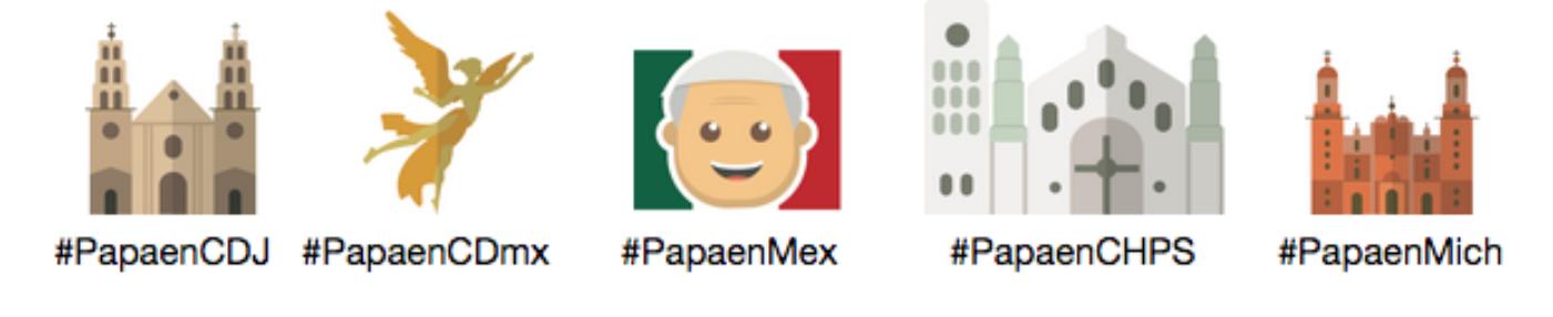 La visita del Papa Francisco a México se vivirá a través de Twitter