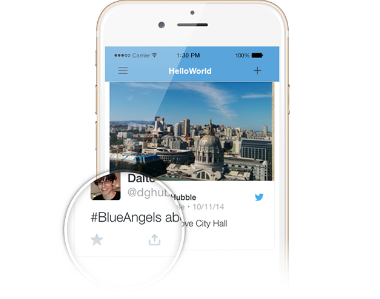 Launching inline actions for Tweet embeds within Twitter Kit