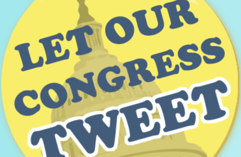 Let Our Congress Tweet