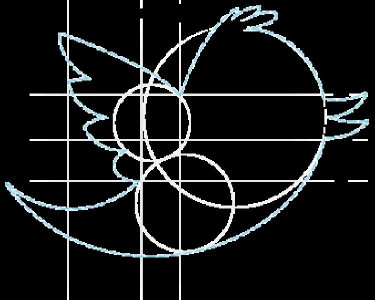 Logo especial do Twitter para os programadores