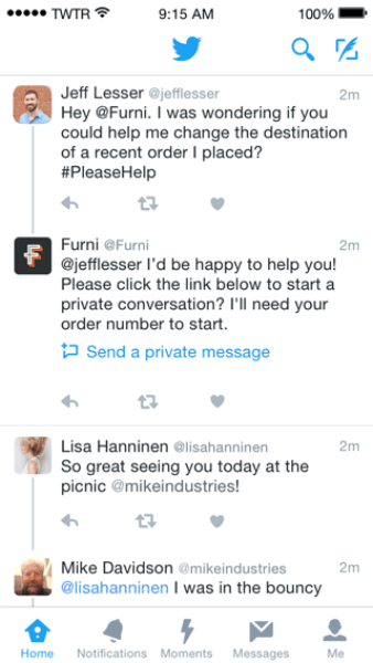Making customer service even better on Twitter