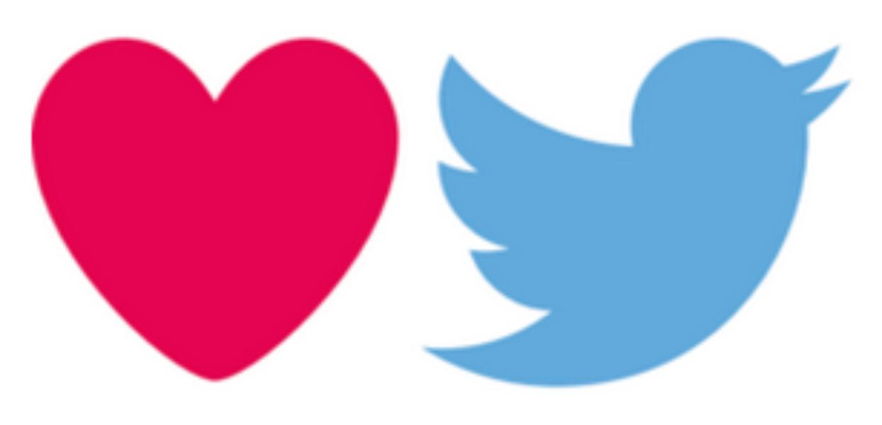 Merci ! Love, Twitter