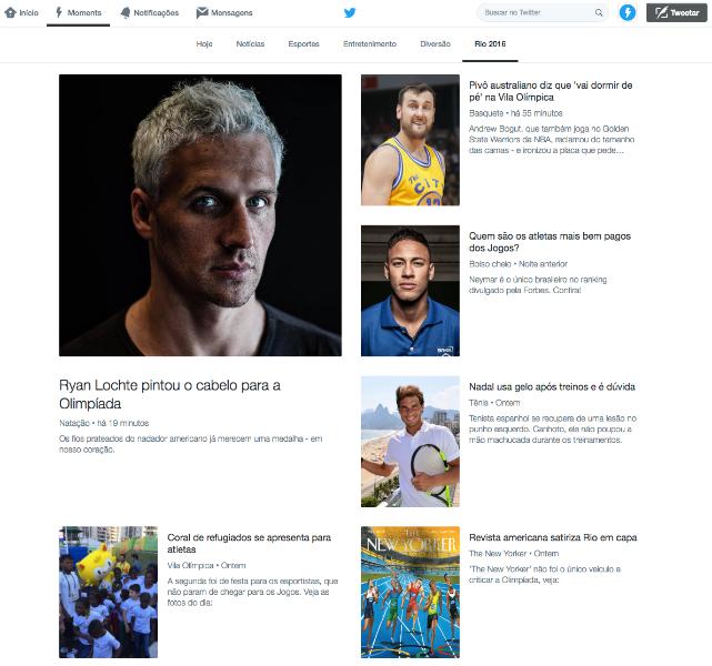 Moments Brasil traz cobertura especial e ao vivo da Olimpíada