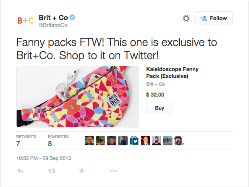 More ways to sell directly on Twitter