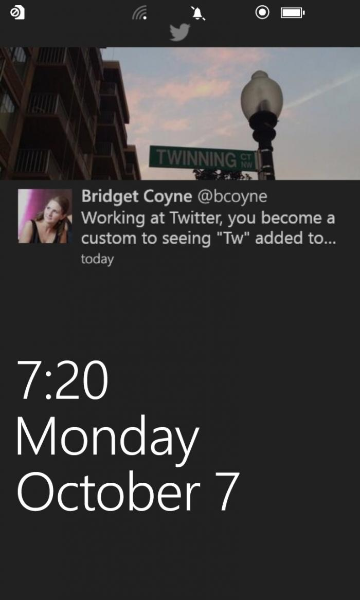 New features on Twitter for Windows Phone 3.0