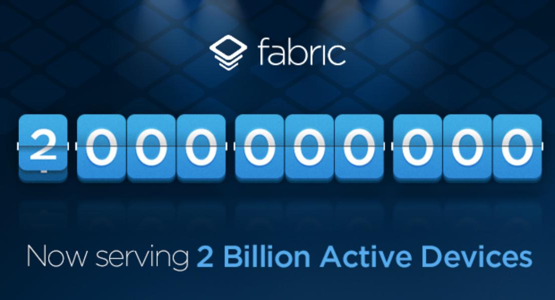 New milestone achieved: over 2 billion active devices