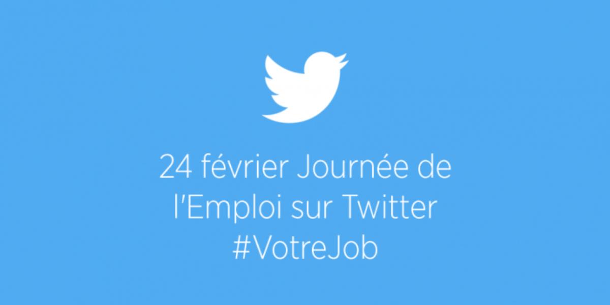 Nous organisons la première Journée Européenne de l'Emploi sur Twitter