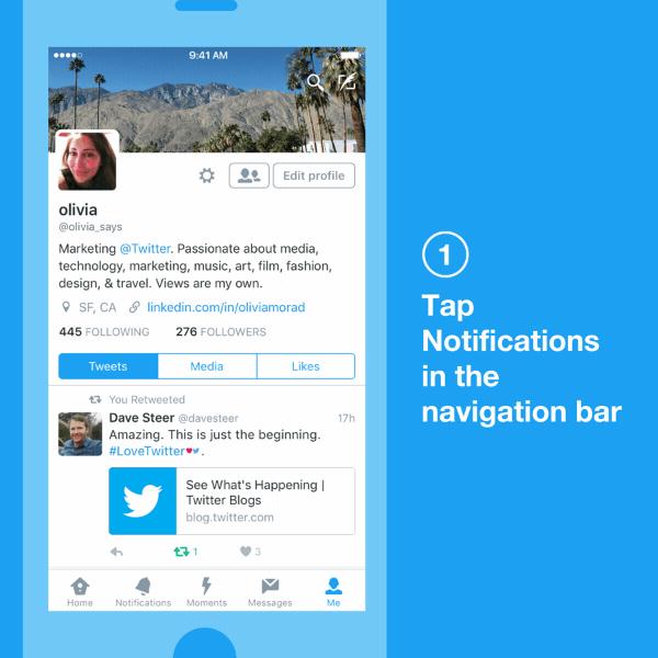 Novas formas de controlar sua experiência no Twitter