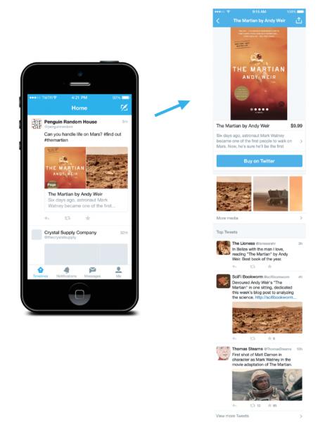 Novas formas para descobrir produtos e lugares no Twitter