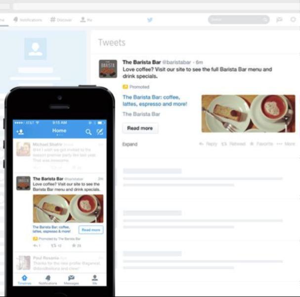 Nuevos formatos, nuevas herramientas, la plataforma Twitter Ads evoluciona