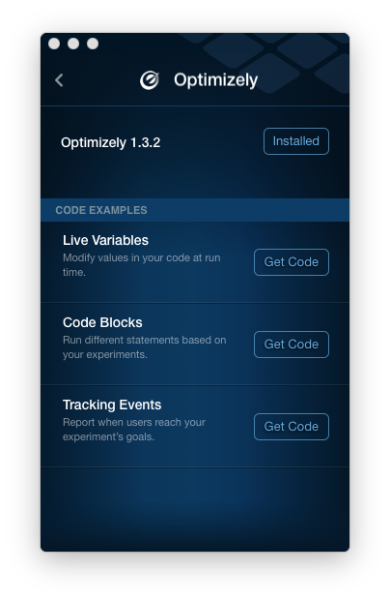 Optimizely now available via Fabric