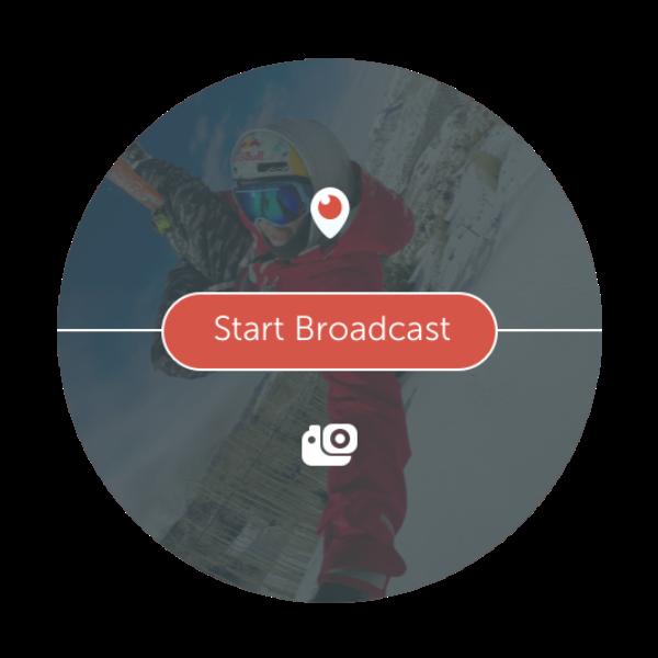 Periscope가 액션캠 GoPro와 만났습니다