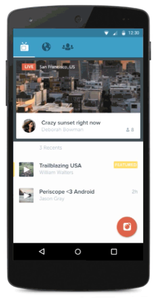 Periscope on Android is here
