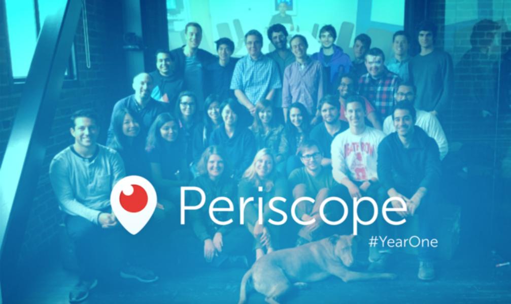 Periscope #YearOne