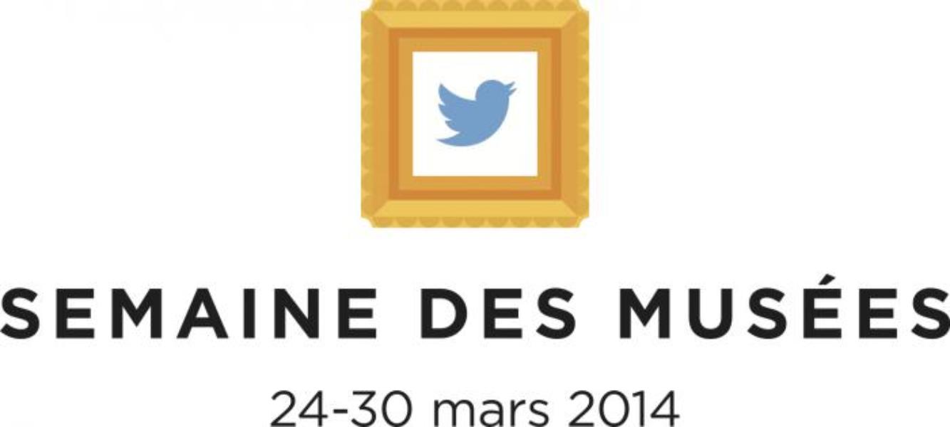 Première semaine des musées sur Twitter (24-30 mars 2014)