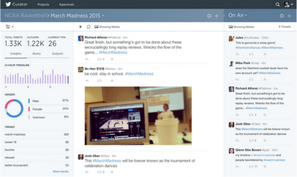 Presentamos Curator, una nueva forma de encontrar y mostrar contenido relevante de Twitter
