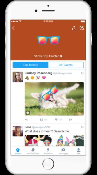 Presentamos las nuevas #Stickers en Twitter
