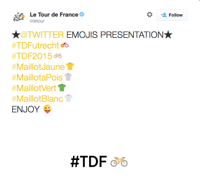 Ride along with the Tour de France on Twitter