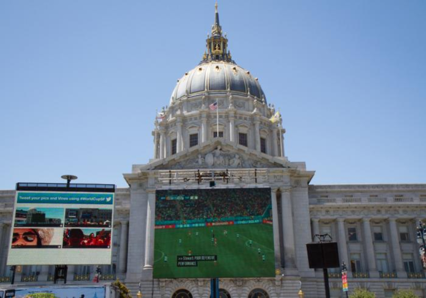San Francisco's World Cup outdoor viewing party