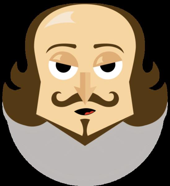 Será um Twitter emoji que vejo em minha frente? Uma homenagem a #Shakespeare400