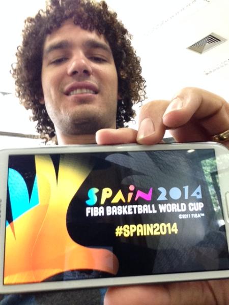 Seu lugar na Copa do Mundo de Basquete 2014