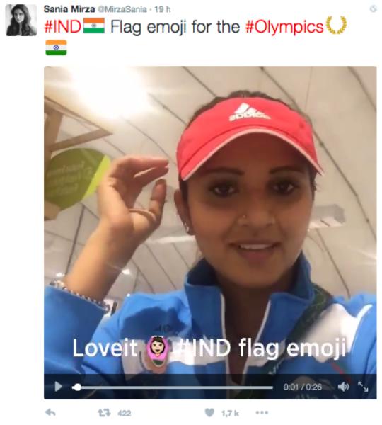 Suivez les @jeuxolympiques de Rio 2016 sur Twitter, Vine et Periscope