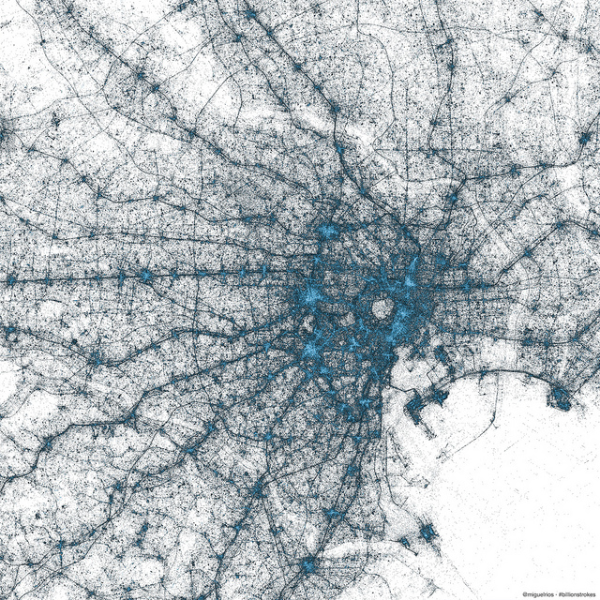 The geography of Tweets