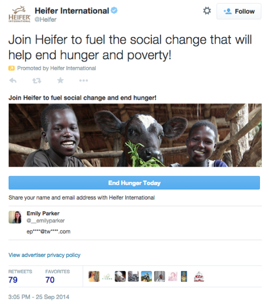 The giving season: a Twitter Ads guide for nonprofits