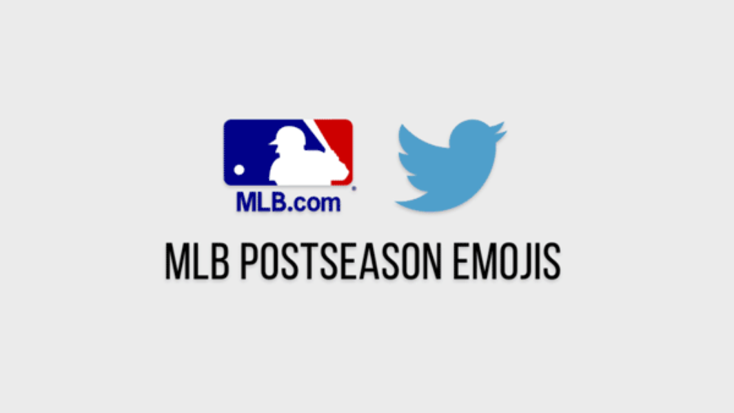 The @MLB #PostSeason is in full swing