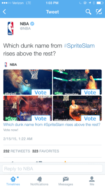 The @NBAAllStar game takes over New York and Twitter