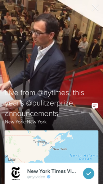 The Pulitzer Prizes announce awards on Twitter