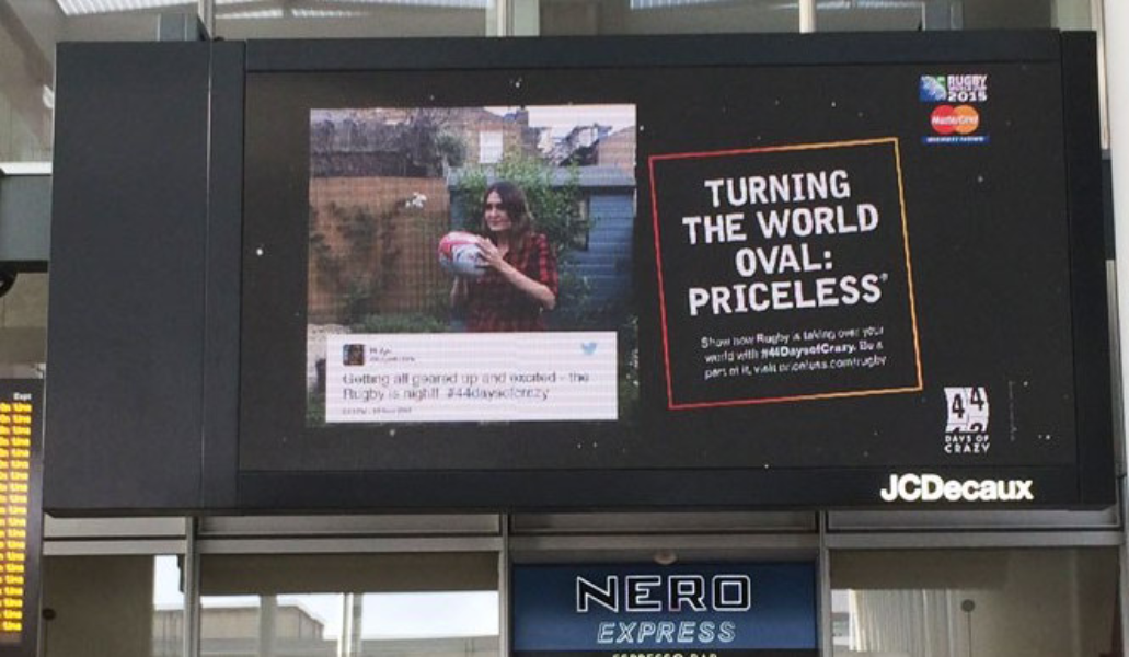 Three important things paid Twitter activity adds to OOH
